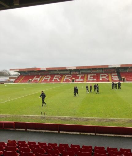 Harriers woes continue at Boston