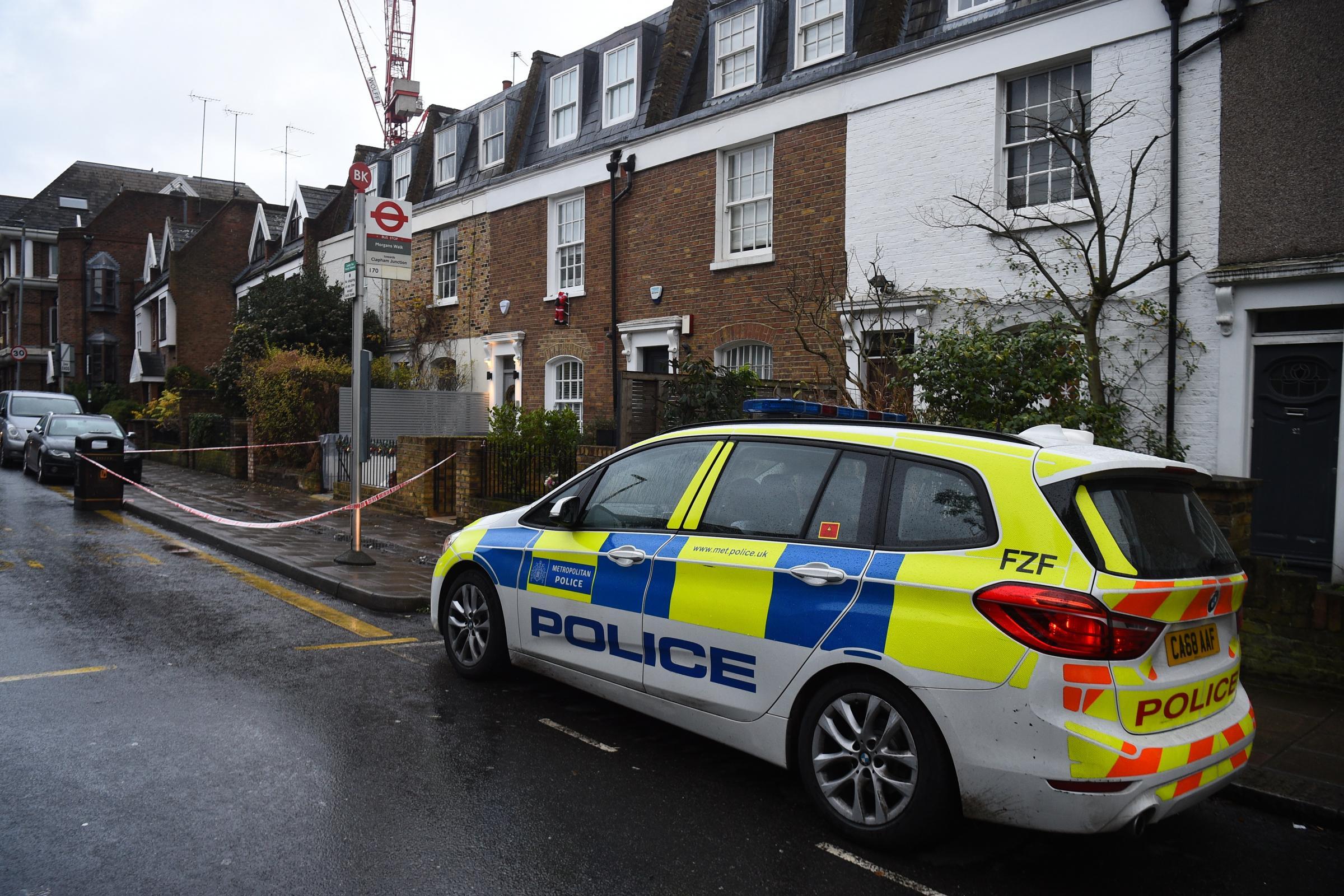 Suspect held over gun murder of Swedish man in London on Christmas Eve