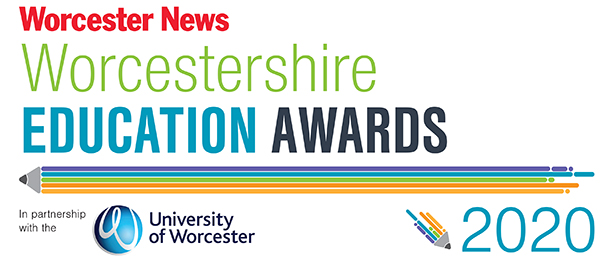 Worcester News: The Worcestershire Education Awards 2020 brought to you by The Worcester News in partnership with the University of Worcester