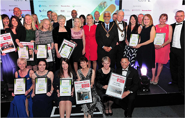 Worcester News: The 2019 Worcestershire Education Award Winners