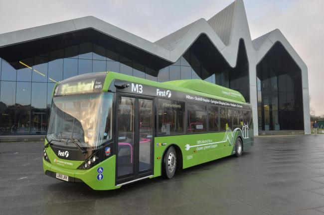BUSES: A First electric bus