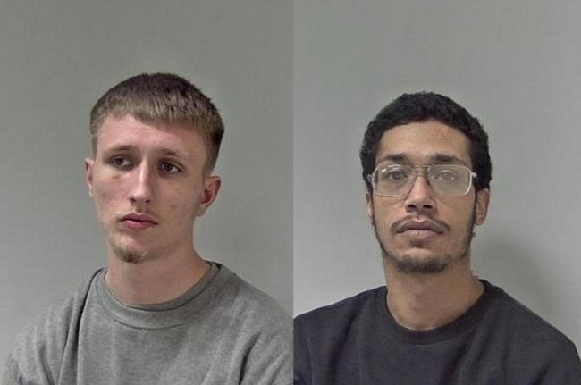 GUILTY: Ben Spares, left, and Ashley Goodes, right. Pictures: West Mercia Police