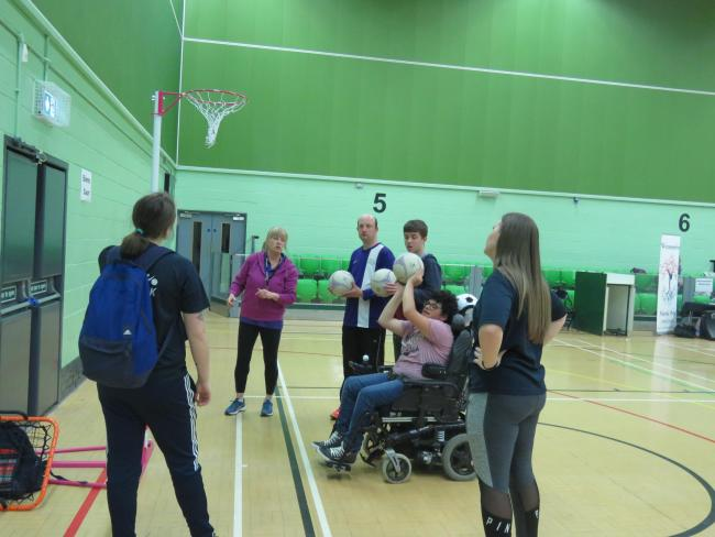 FITNESS: Sports taster session for local youngsters with disabilities