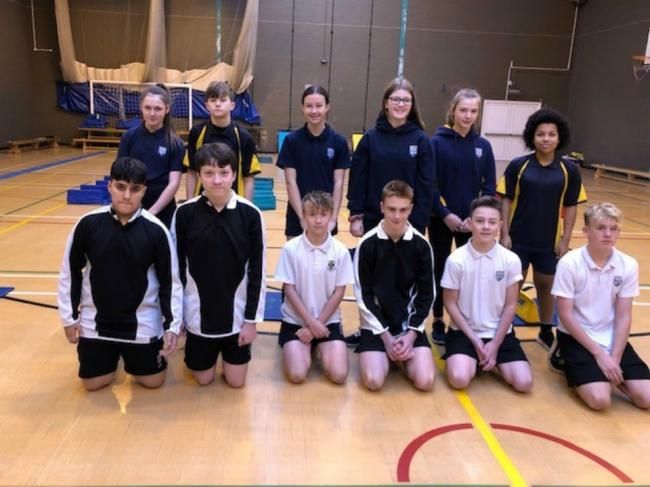 Bishop Perowne CE College PE students run athletic day for primary pupils