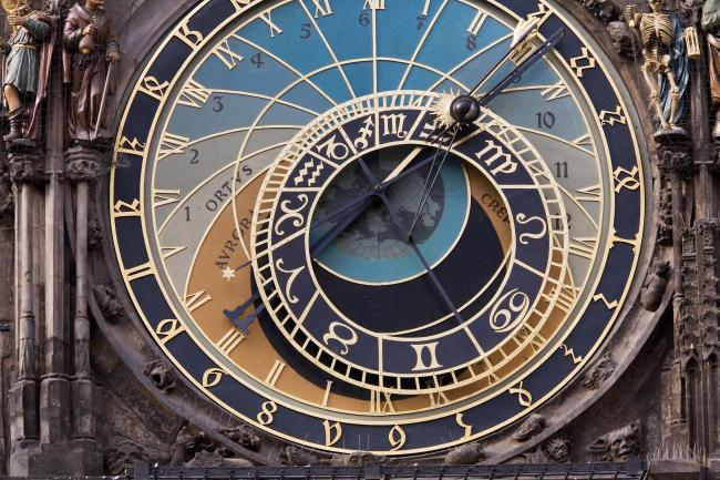 Photo caption: Prague Astronomical Clock Picture: Wikimedia Commons/Jorge Royan