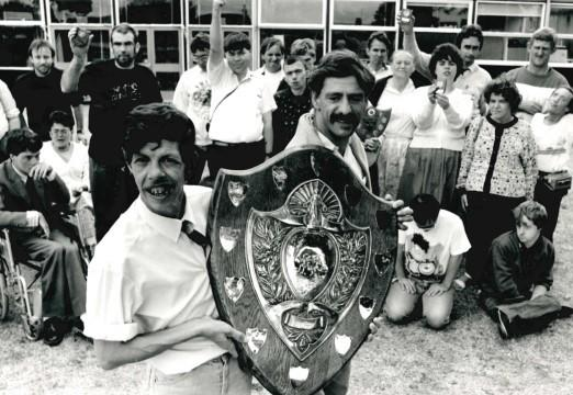 NOSTALGIA: Today's Worcester News nostalgia photo shows the successful team from Perryfield Adult Training Centre, who were crowned overall county champions at the annual sports day in Claines in 1990