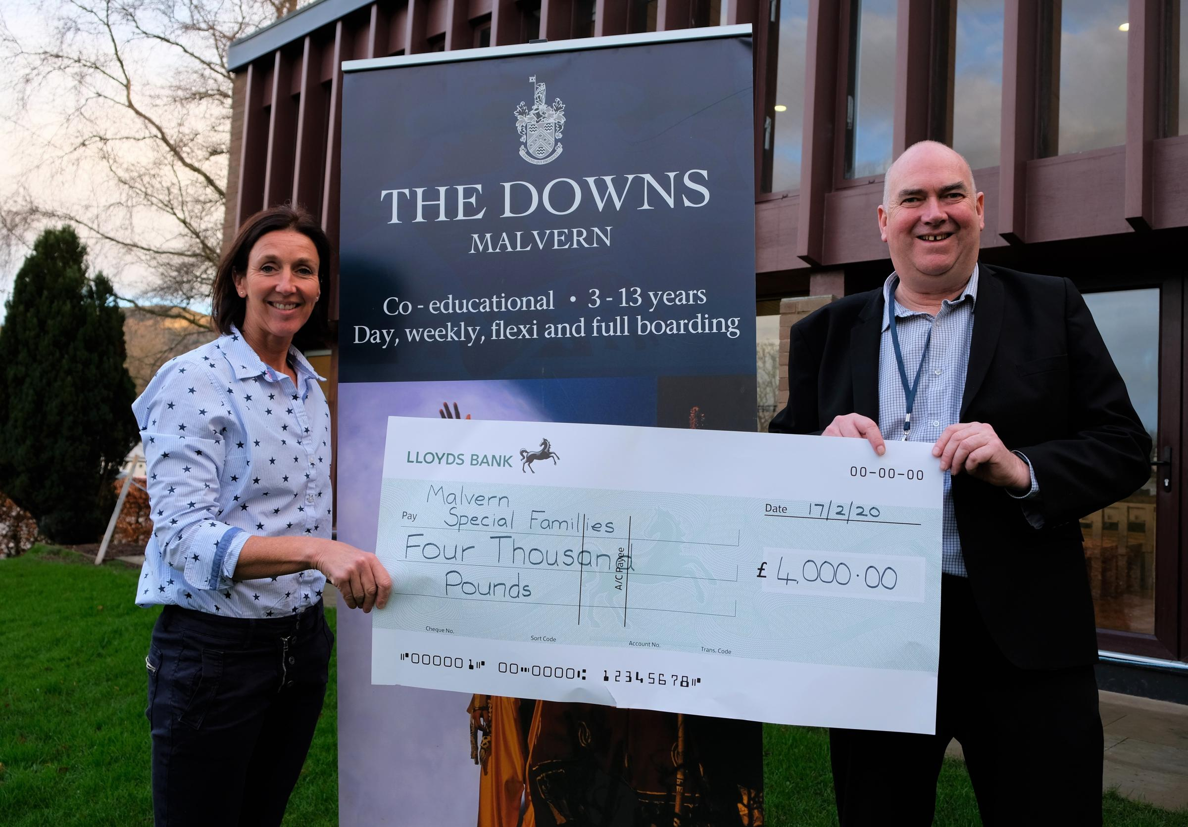 School raises £4,000 for charity which helps children with disabilities