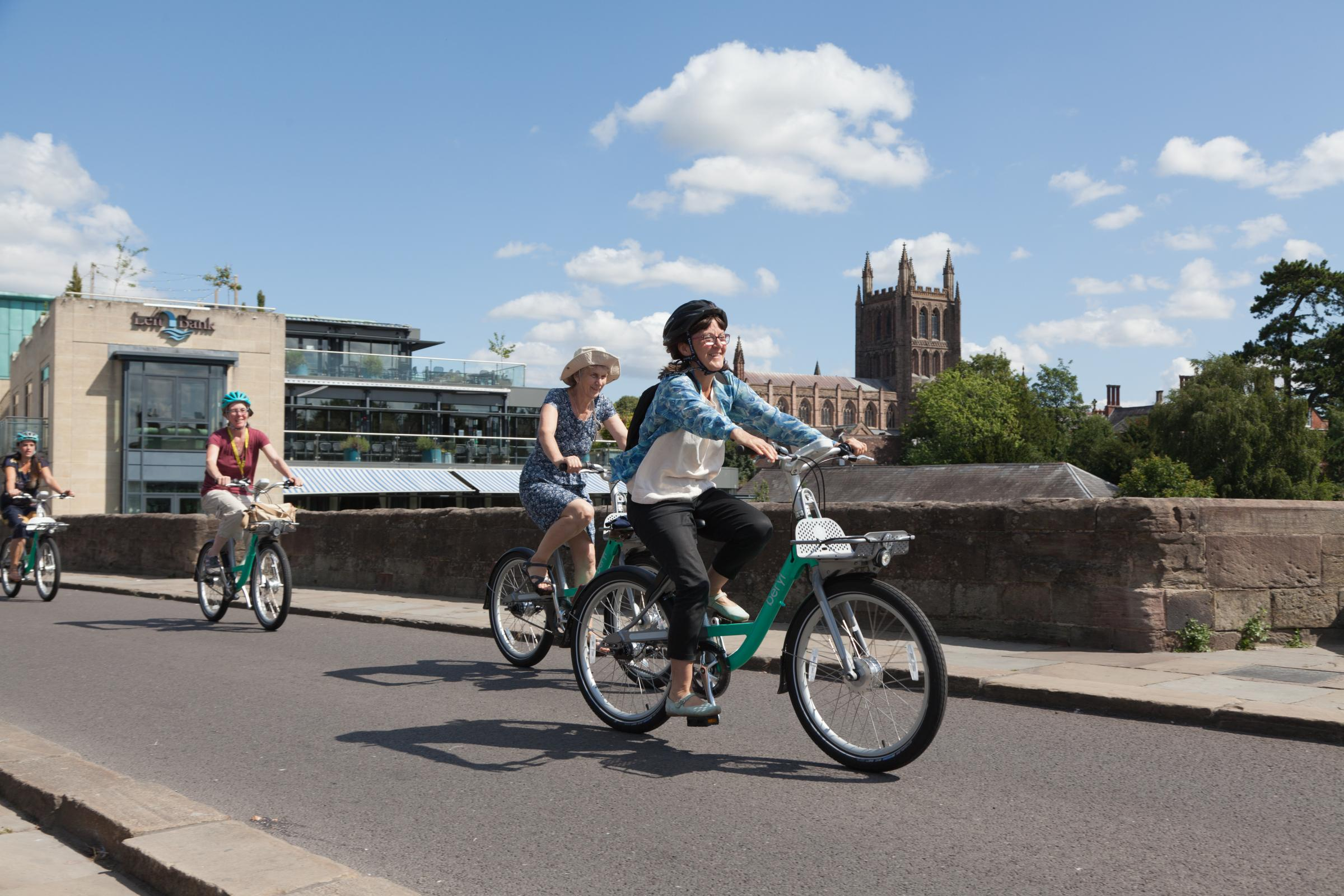 Vast Majority Of People In Herefordshire Don T Walk Or Cycle To
