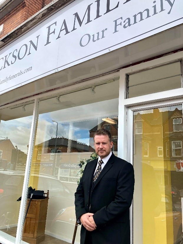 Funeral directors shortlisted for award
