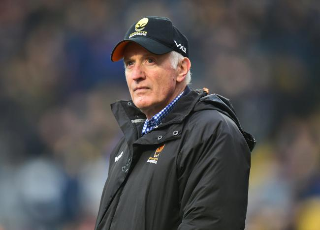 Worcester Warriors Director of Rugby Alan Solomons - Mandatory by-line: Alex James/JMP - 25/01/2020 - RUGBY - Sixways Stadium - Worcester, England - Worcester Warriors v Wasps - Gallagher Premiership Rugby.