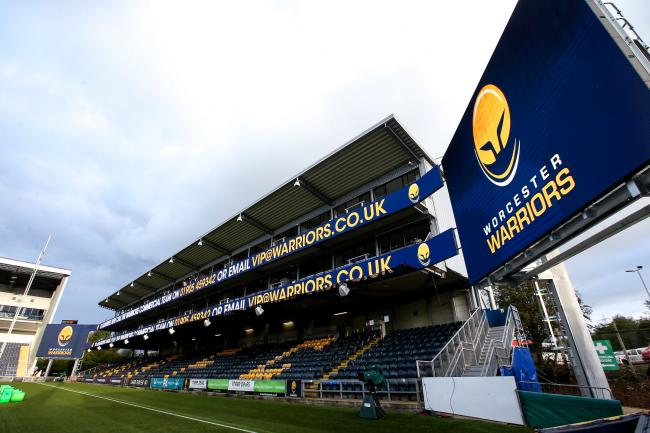 BUSINESS: Sixways Stadium, where the event is taking place. Pic. Robbie Stephenson/JMP