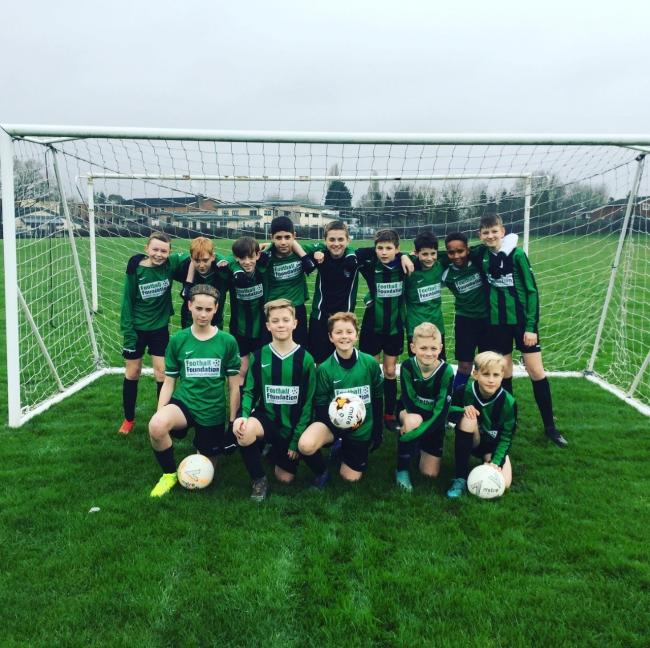 Nunnery Wood High School's year seven boys' county cup semi-finalists. Picture: NUNNERY WOOD HIGH SCHOOL
