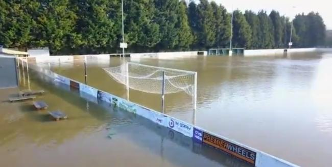 WATCH: Stourport Swifts decimated by flooding again