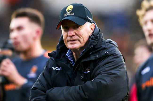 Worcester Warriors Director of Rugby Alan Solomons - Mandatory by-line: Robbie Stephenson/JMP - 11/01/2020 - RUGBY - Sixways Stadium - Worcester, England - Worcester Warriors v Enisei-STM - European Rugby Challenge Cup.