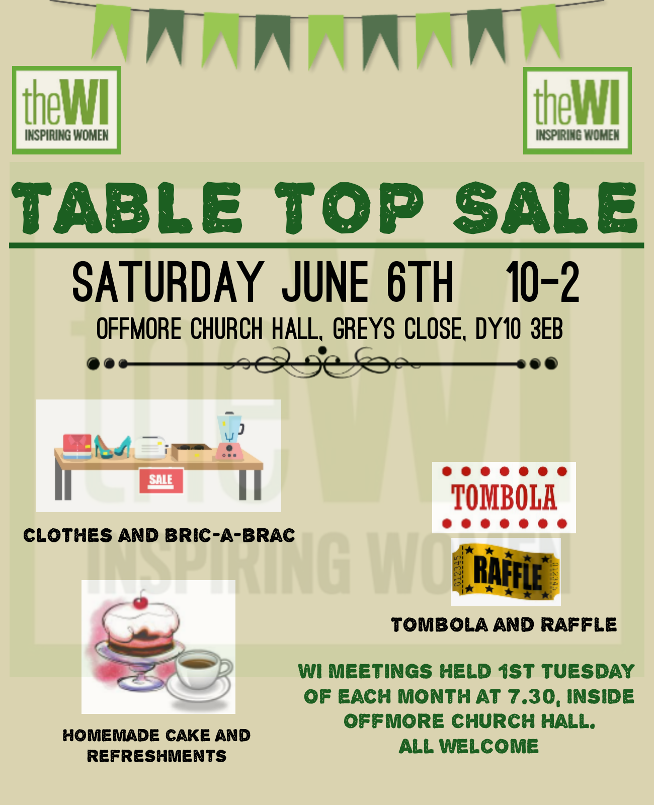 Table Top Sale - Offmore Church Hall