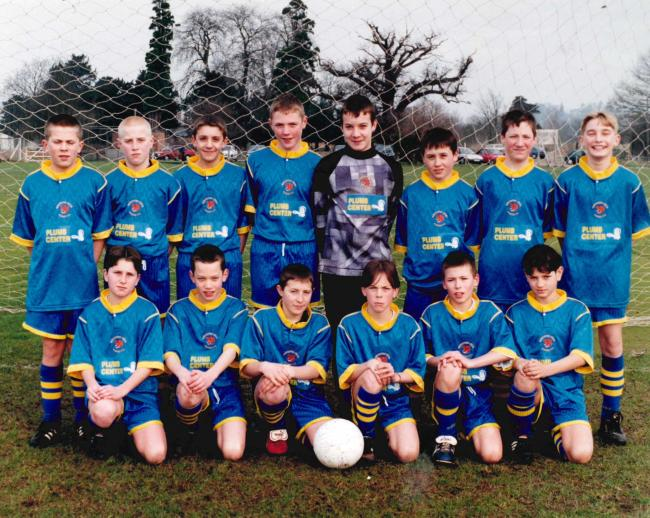 Worcester Tigers under 13s in 1998