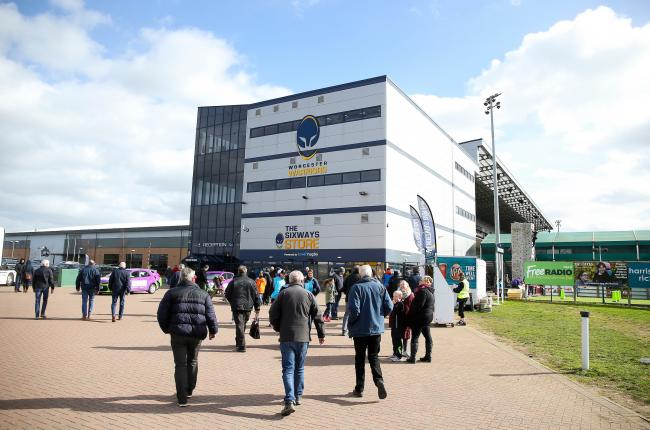 Supporters make their way to the Sixways Stadium home of Worcester Warriors - Mandatory by-line: James Baylis/JMP - 09/03/2019 - RUGBY - Sixways Stadium - Worcester, England - Worcester Warriors v Exeter Chiefs - Gallagher Premiership Rugby.