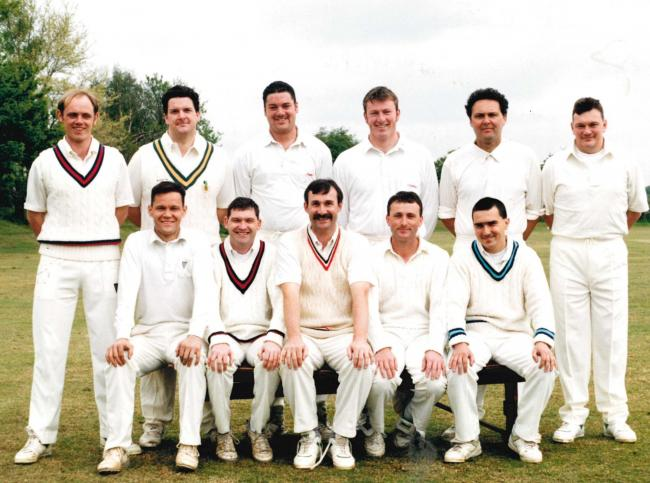 Dominies and Guild cricketers in 1996