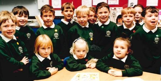 SCHOOL: Today's Worcester News nostalgia photo comes from 1996 and features youngsters starting at RGS The Grange in Worcester. Recognise anyone?