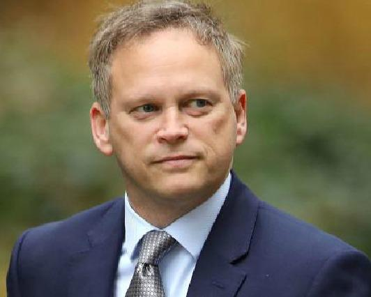 VEHICLES: Grant Shapps. Pic. PA