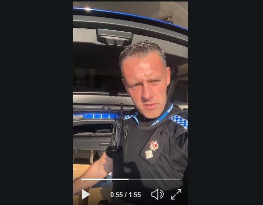 VIDEO: Chief Superintendent Tom Harding describes shocking moment a custody sargeant was spat at by someone claiming to have Covid-19