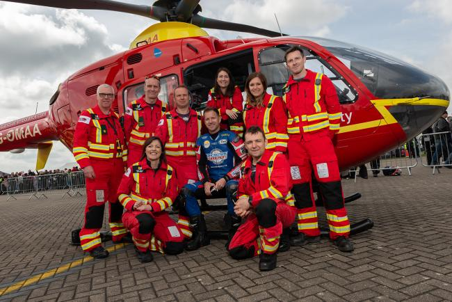 FUNDRAISER: Midlands Air Ambulance Bike4Life goes virtual. Picture: Paul Humphries