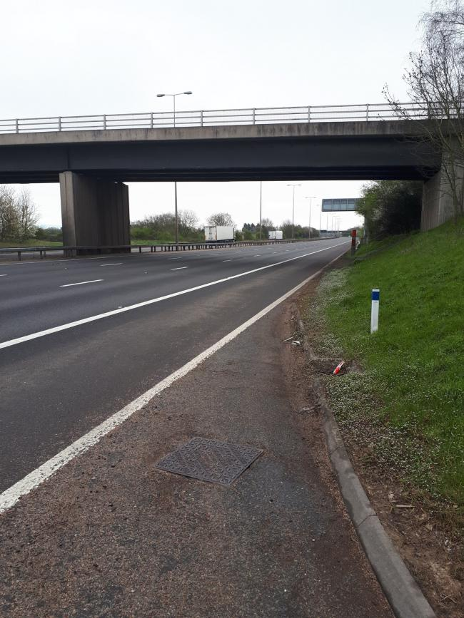 EMPTY M5: Police thank drivers for following advice. PHOTO: OPU Worcestershire