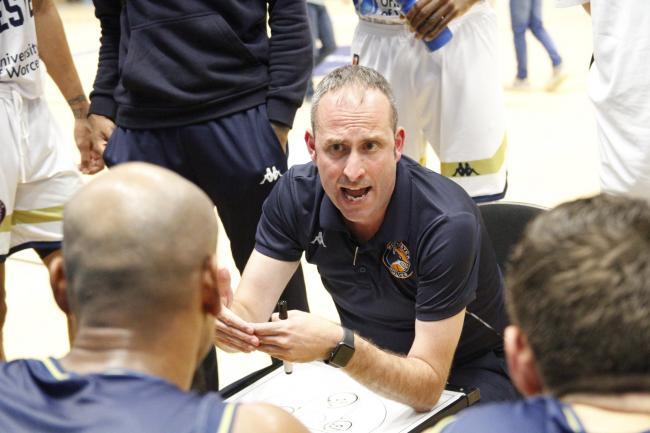 Worcester Wolves head coach Matt Newby. Picture: KEITH HUNT