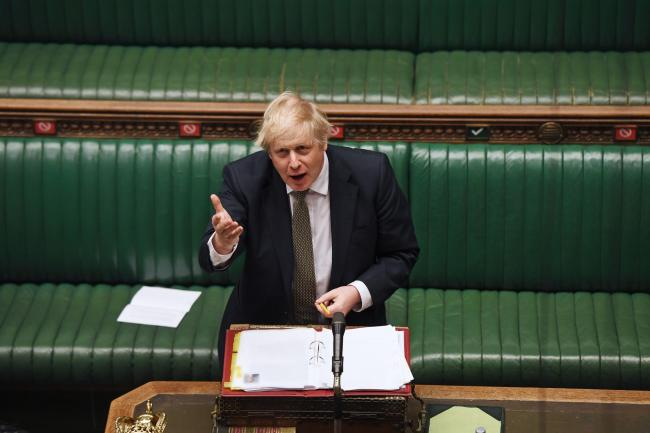 MEASURES: Boris Johnson is expected to announce an easing of the lockdown on Sunday