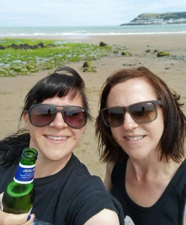I miss my twin sister -Heather Rees- badly! She's my absolute hero and best friend but as I'm in Wales and she's in Hereford it's impossible for us to see each other. She's a frontline NHS worker and I'm  incredibly proud of her!