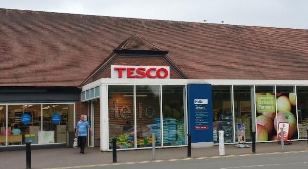 EXTERIOR: Warndon Tesco