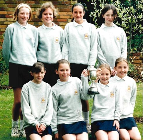 TEAM: Recognise anyone? Today's Worcester News nostalgia photo from the archives comes from all the way back in May 1996 and features the Warndon Junior School Netball Team.