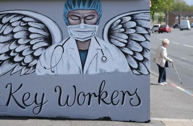 An artwork tribute to key workers