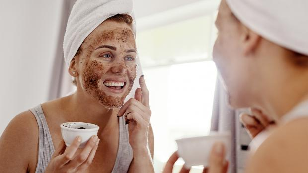 Worcester News: Always be gentle when using a scrub on your skin. Credit: Getty Images / People Images