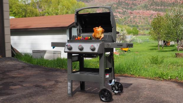 Worcester News: The Weber Spirit II E-310 remains the best gas BBQ we've tested. Credit: Reviewed