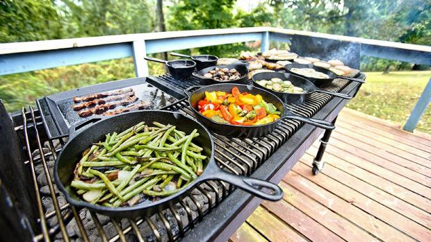 Worcester News: A good cast iron (or four) can help you cook up vegetable and more on the BBQ. Credit: Amazon / Lodge