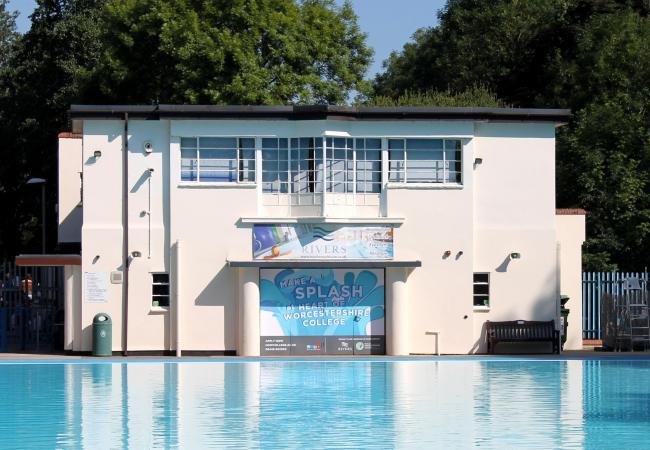 POOL: Droitwich Lido remains closed until further notice. Picture: Philip Butler