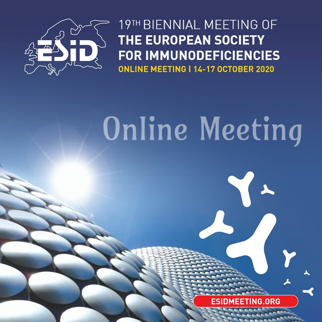 The 19th Biennial Meeting of The European Society of immunodeficiencies - Online Meeting