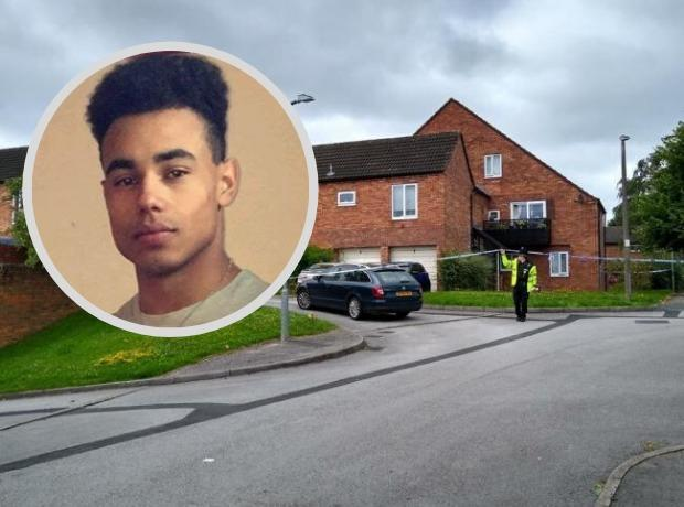 STABBING: Colton Bryan was stabbed to death at his home in Guinness Close last year