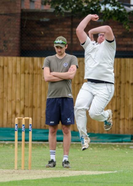 BOWLING: Martley CC's bowling attack was in full swing last weekend. Pic. Roger King