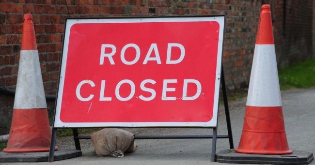 CLOSED A list of road works starting in and around Worcester today