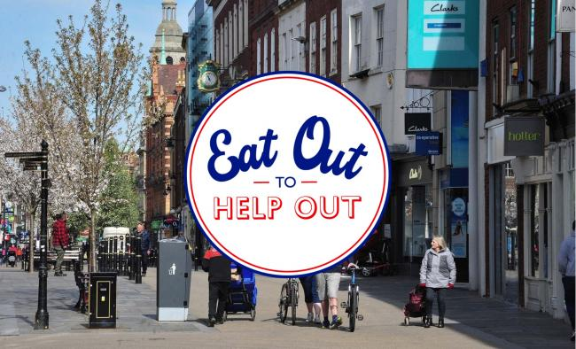 DISCOUNT: Diners in Worcester can receive up to fifty per cent discount on food and non-alcoholic drinks throughout August as part of the government's 'Eat Out to Help Out' scheme
