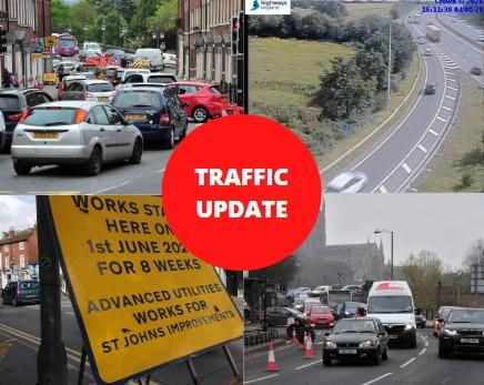 UPDATES: The latest travel updates from in and around Worcestershire