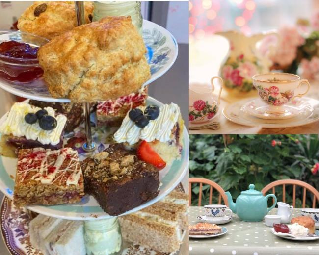 4 amazing places for afternoon tea in Worcester (Facebook@GardenTeaRooms, @tearoomworcester)