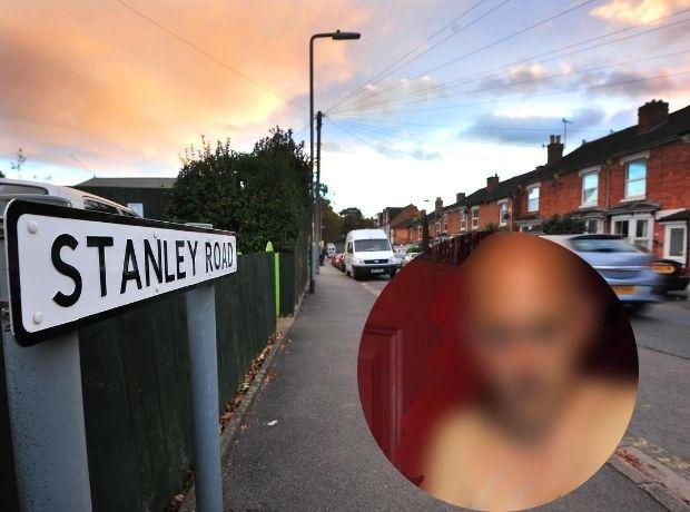 ARREST: Stanley Road, Worcester, and, inset, 'the sting'