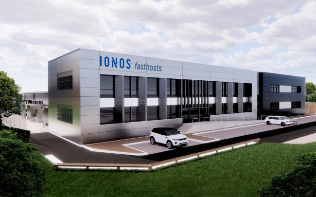 SITE: An artist's impression of the future IONOS site at Worcester Six Business Park