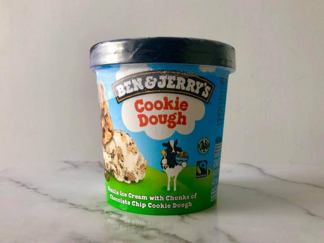 Ben & Jerry's share 'correct way' to store their ice cream. Picture: Newsquest
