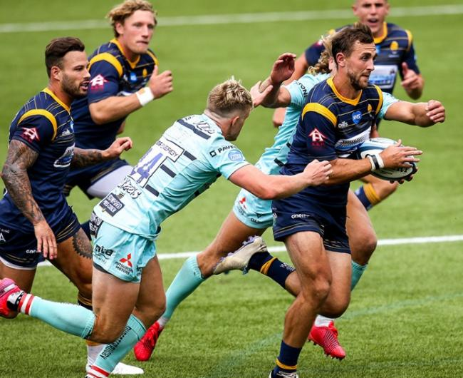 DEFEAT: Warriors returned to action with a humbling 15-44 defeat to Gloucester. Pic. Worcester Warriors