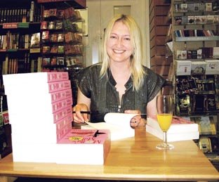 BOOK SIGNING: Victoria Connelly has agreed a new two-book deal in the UK with HarperCollins.