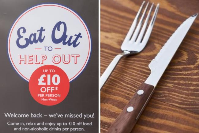 Eat Out to Help Out: Here's how many meals were eaten in your area during August. Picture: Newsquest
